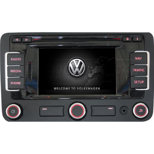 vw rns 510 dab navigation dvd sd audi vw retrofit. Black Bedroom Furniture Sets. Home Design Ideas