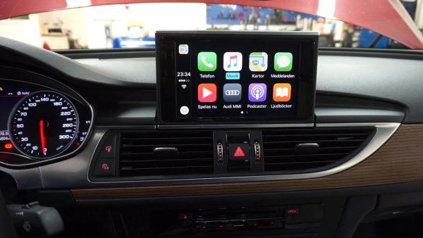 Audi Smart Phone interface / Apple CarPlay upgrade