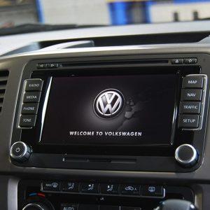 VW RNS 510 DAB Navigation DVD SD