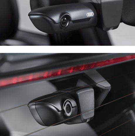 genuine audi dash cam traffic recorder camera front and. Black Bedroom Furniture Sets. Home Design Ideas