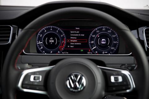 VW Golf MK7 Active Info Display Retrofit AID